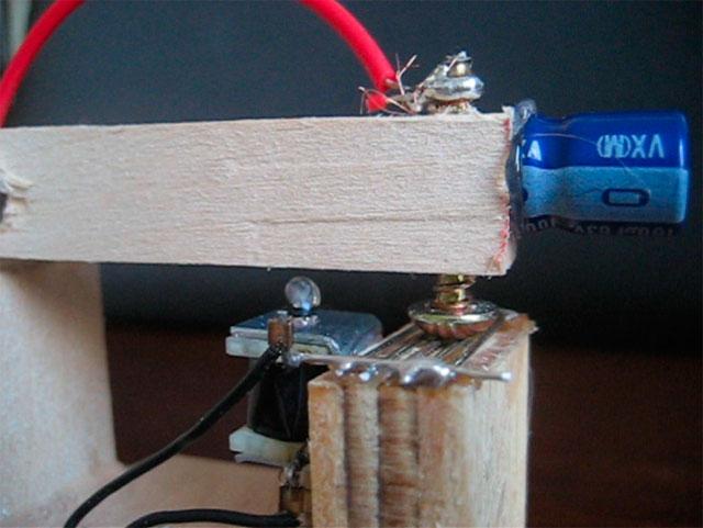 Suicide Clock Ultra-Close-Up of Circuit